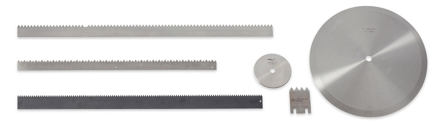 Score Toothed and Slicer Blades