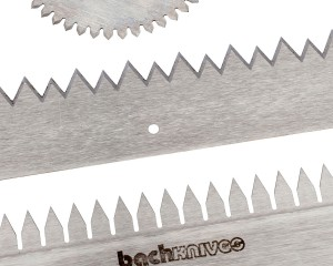 Toothed Cut-Off Knives